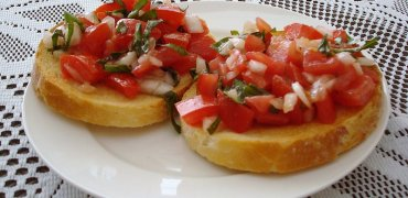 Bruschetta ratatouille