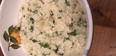 Arroz de couve flor Low Carb